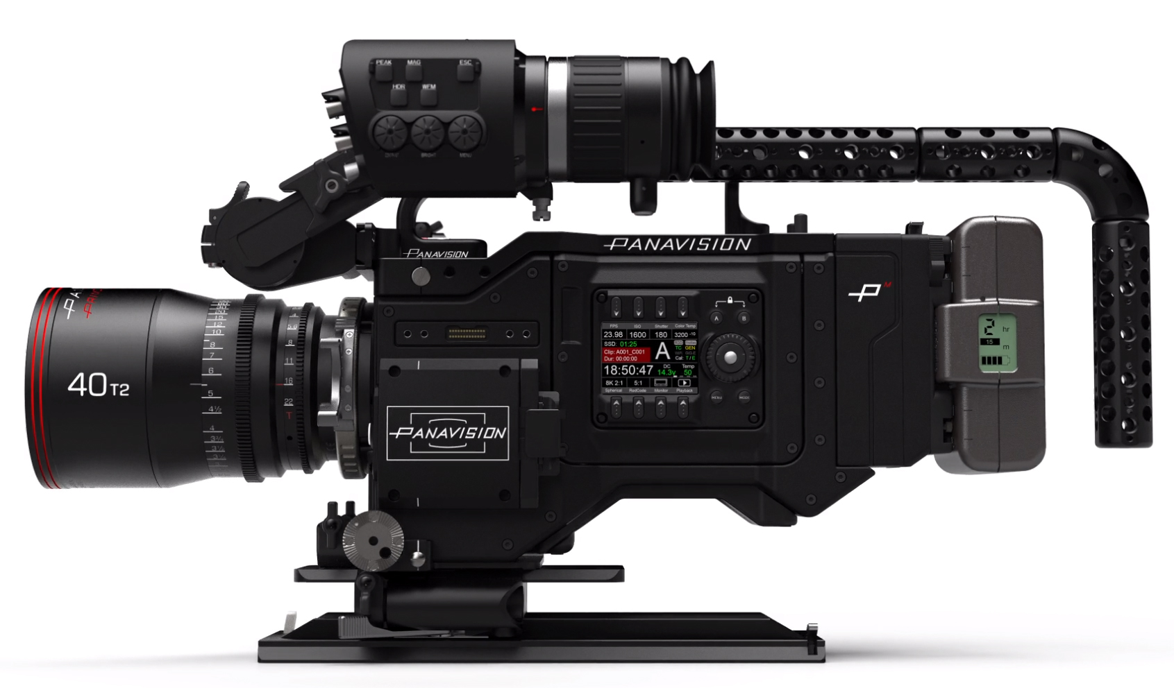 Panavision Millenium DXL receives Remote Audio, new DXL-M module (RED) and others
