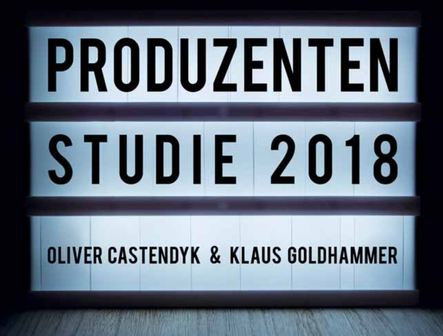 New Film- and TV-producer study for the German market