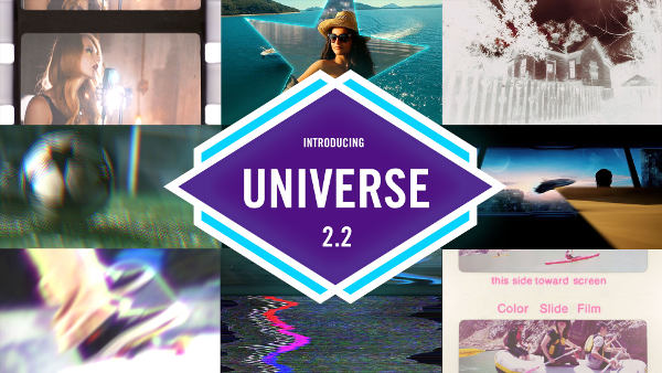 Red Giant Universe 2.2 -- Plugin-Update with 11 new transitions