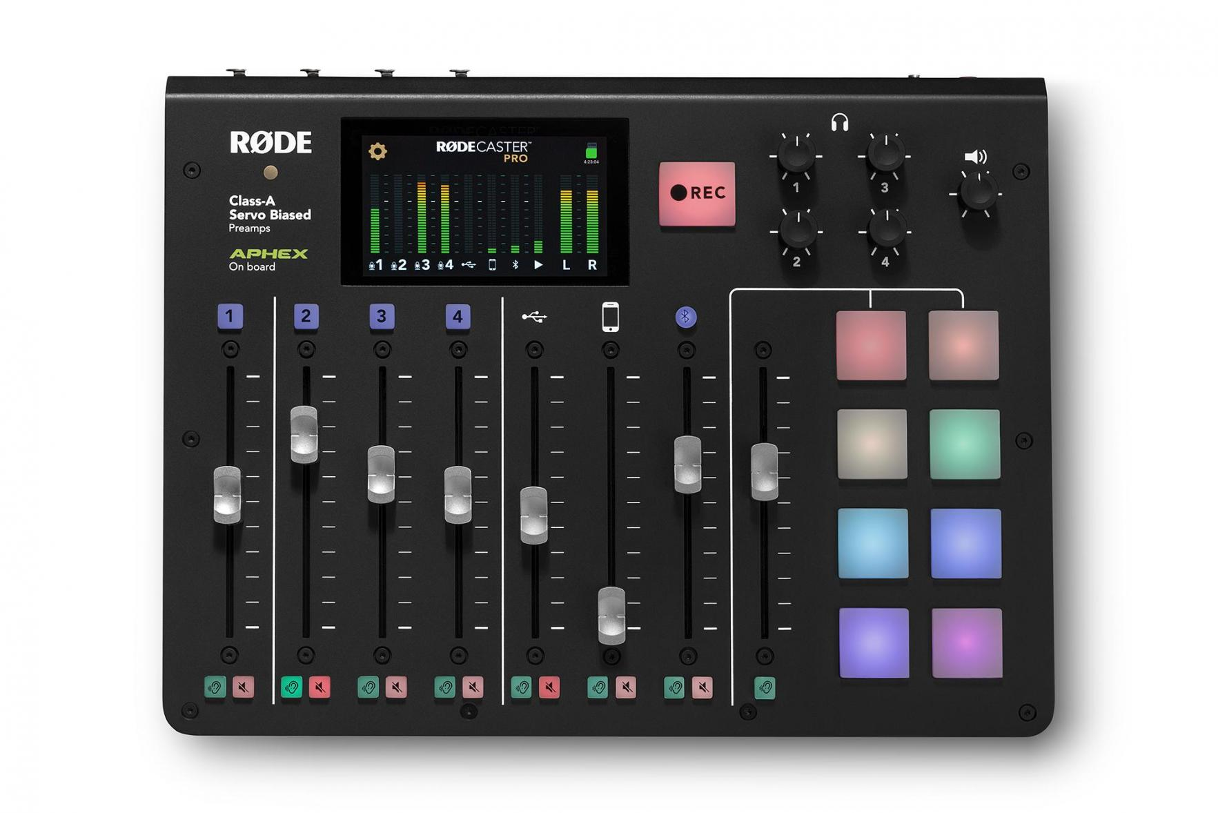 Rode: RODECaster Pro - All-in-one production console for podcasts