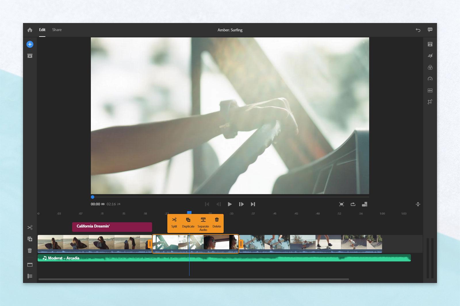 Adobe - new April updates for Premiere Pro and Premiere Rush