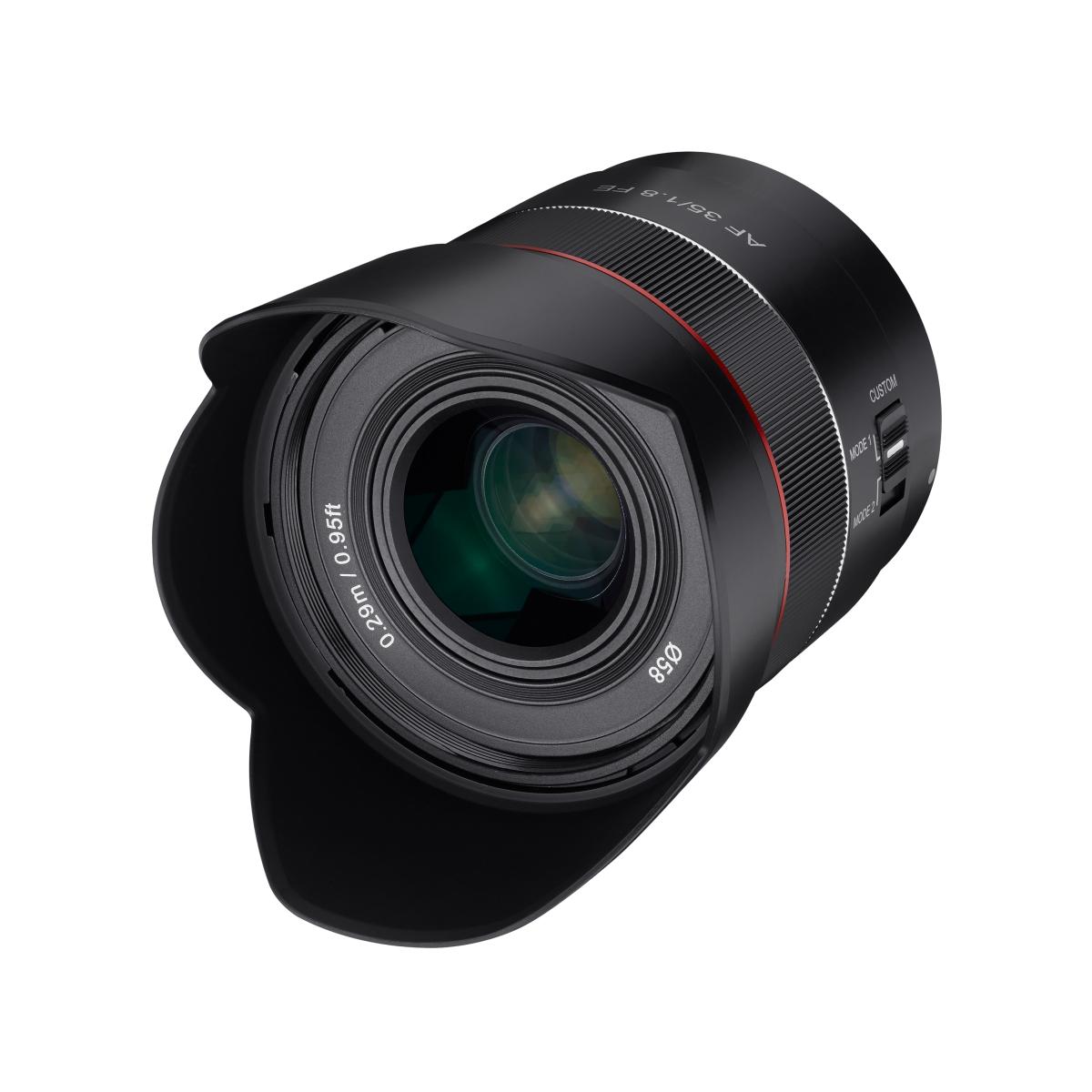 Tiny E Mount - New 35mm AF full frame lens from Samyang