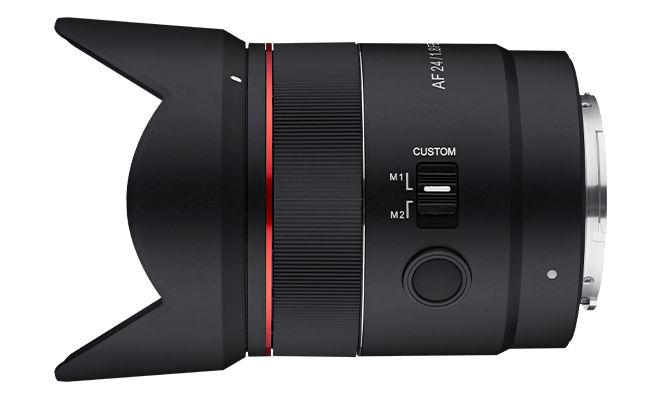 New wide angle lens Samyang AF 24mm F1,8 FE