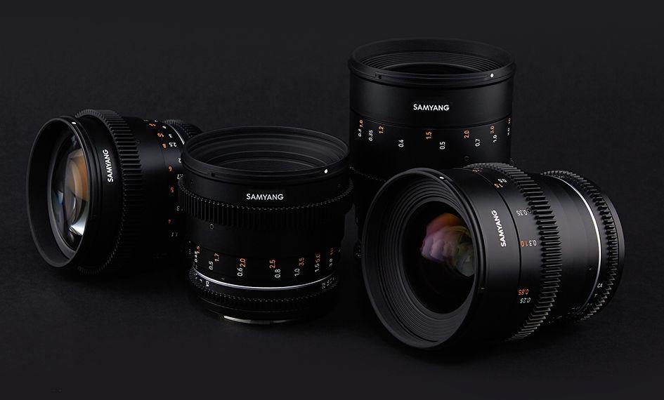 Four renewed Samyang VDSLR MK2 lenses to come, also for the RF mount