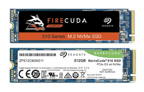 Seagate: Firecuda, Barracuda and Ironwolf SSDs up to 3.84 TB