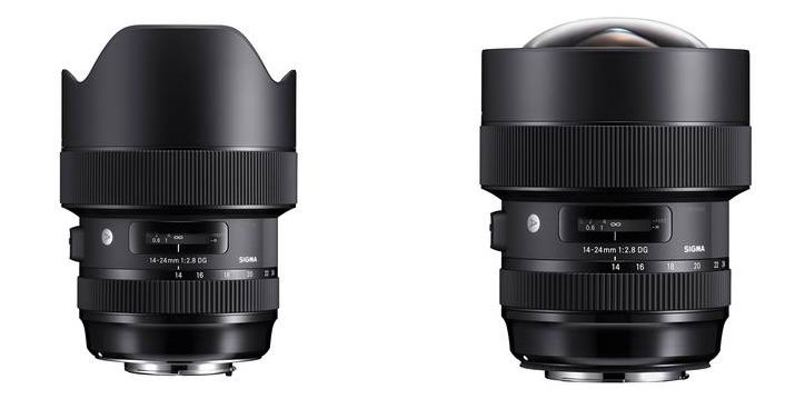 Sigma introduces 14-24mm F2,8 DG HSM | Art lens