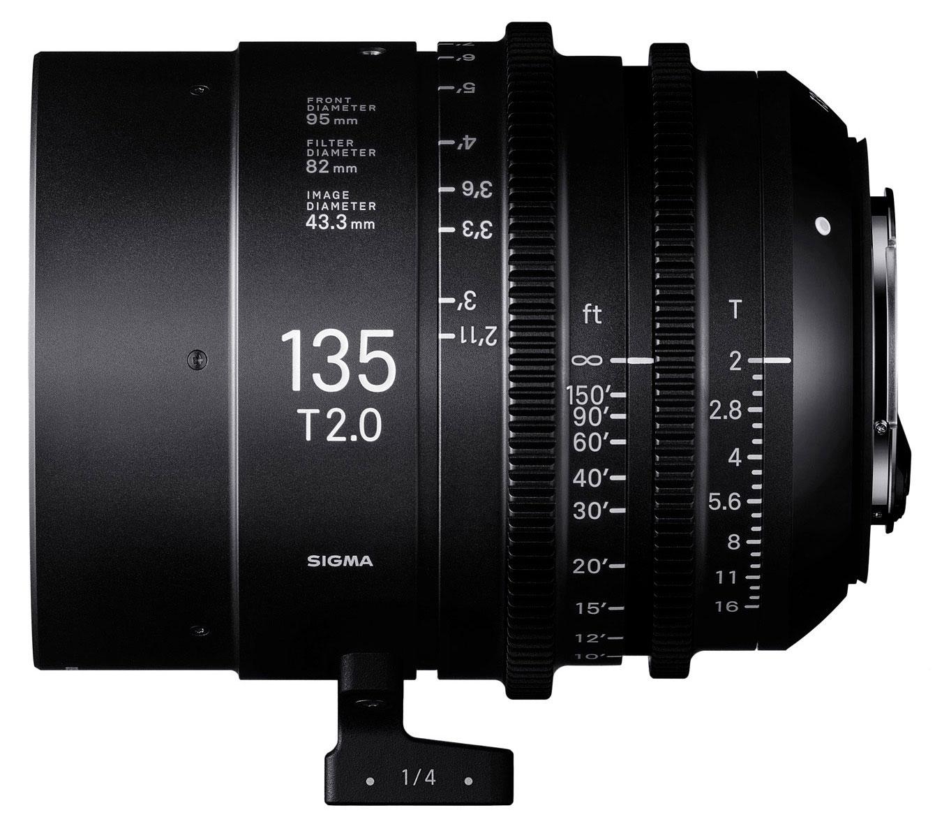 Noch zwei Sigma Primes: 14mm und 135mm mit T2-Blende // NAB 2017