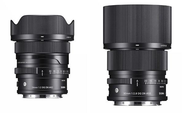 Sigma announces new Contemporary lenses 24mm F2 DG DN and 90mm F2,8 DG DN