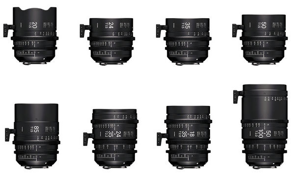 Classic Art Primes: Sigma plans new cine-lenses with vintage look
