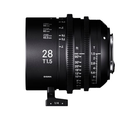 More Sigma cine full format primes -- 28mm, 40mm and 105mm T1.5 // IBC 2018