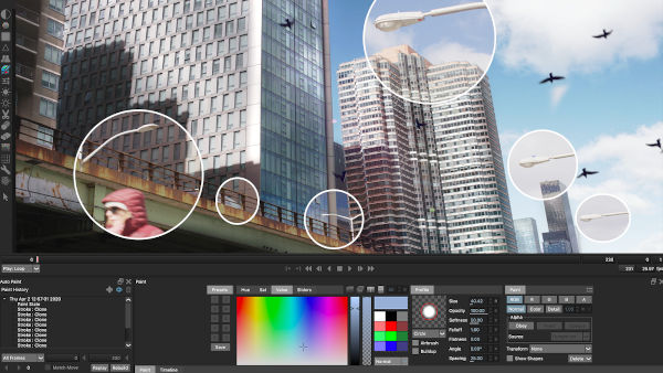 Silhouette Paint: professional rotate and paint tool now also available as a plugin