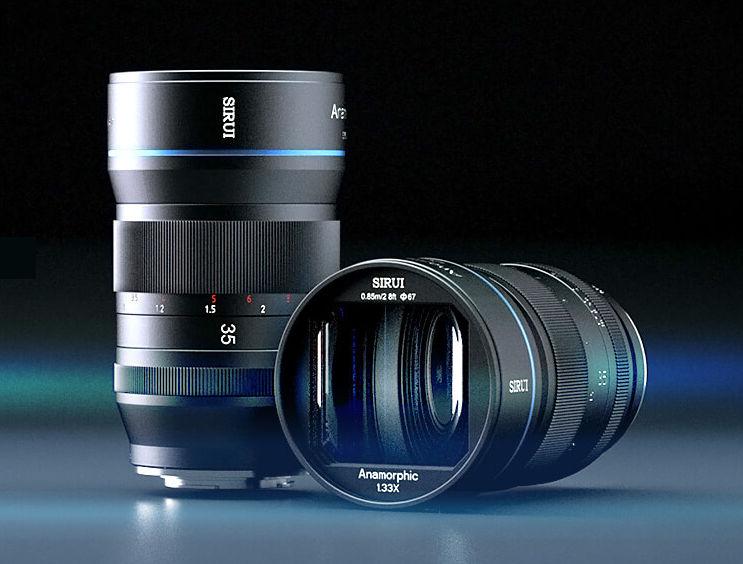Sirui announces anamorphic wide-angle lens 35mm F/1.8 1.33x