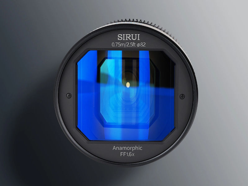 Sirui 50mm T2.9 1.6x -- affordable anamorphic lens for full-frame soon on Indiegogo