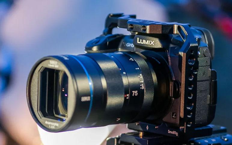 Fourth Sirui anamorphic lens 75mm F/1.8 1.33x coming