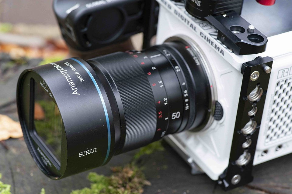 Sirui anamorphic lenses available with RF- and L-mount