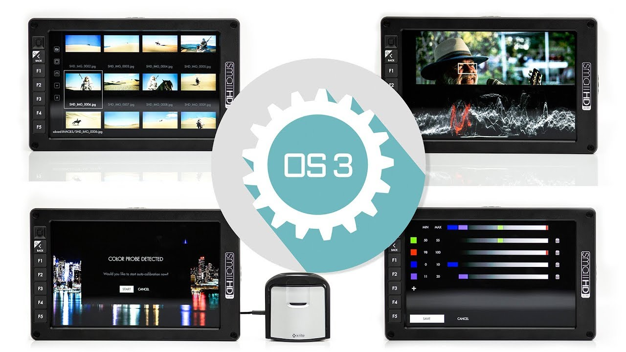 SmallHD OS3 big Firmware Update with new False Color, Spot-Meter (Waveform) functions and much more.