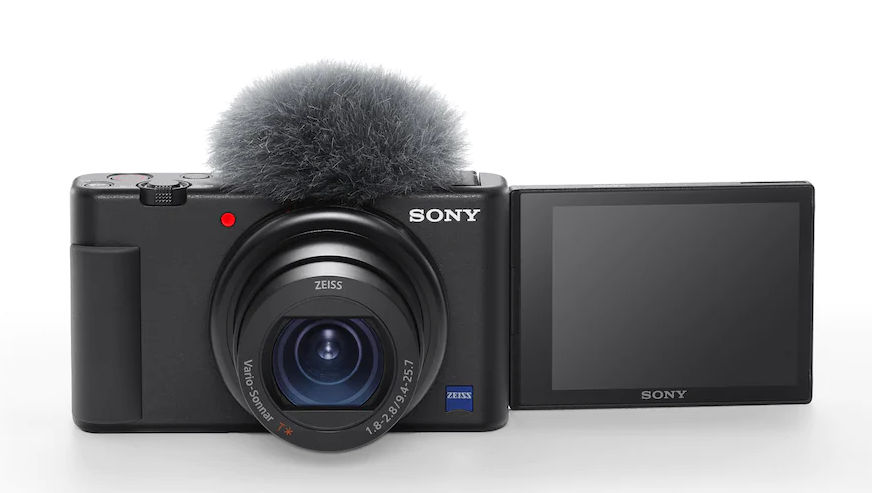 Sony ZV-1 for vloggers -- new 4K compact camera with webcam-funktionality