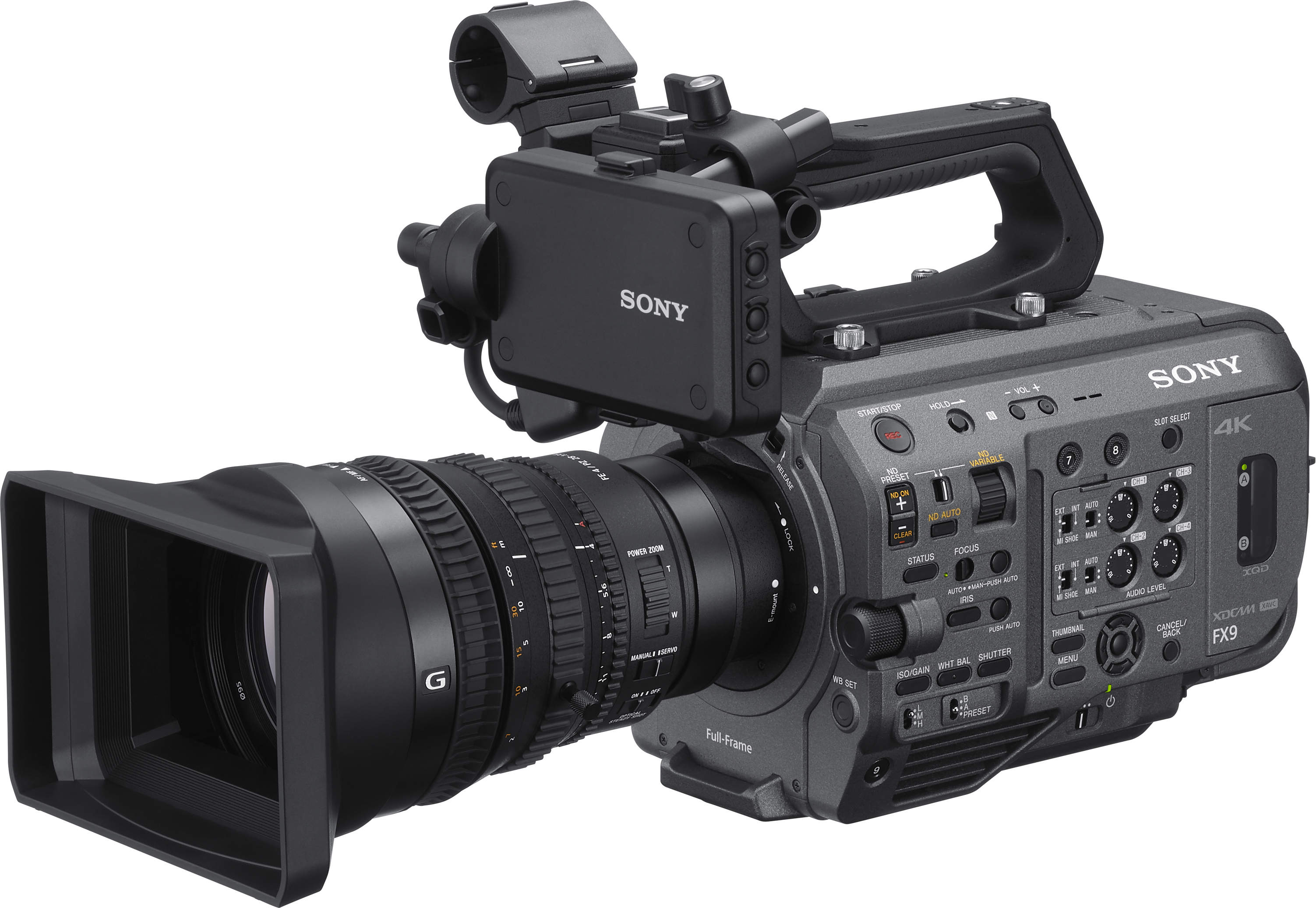 Sony PXW-FX9 - Concept of FS7 with full format sensor // IBC 2019