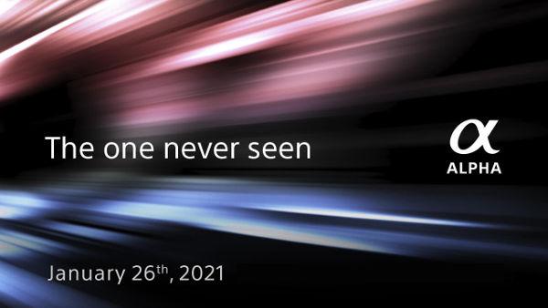 Sony Alpha camera announcement tomorrow live @Youtube