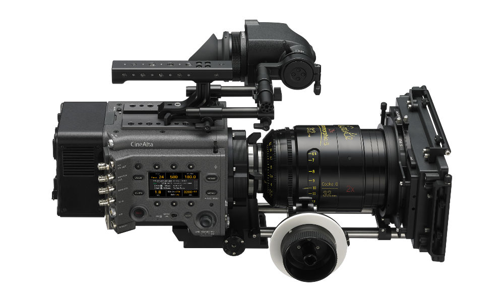 Sony Venice Cine-Camera: Fullframe Option available at Launch