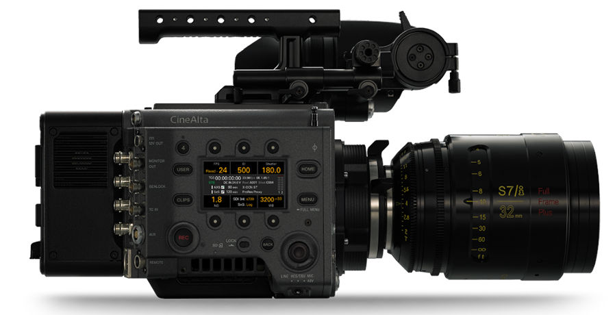 Sony VENICE will support optional HFR with up to 120fps in 4K