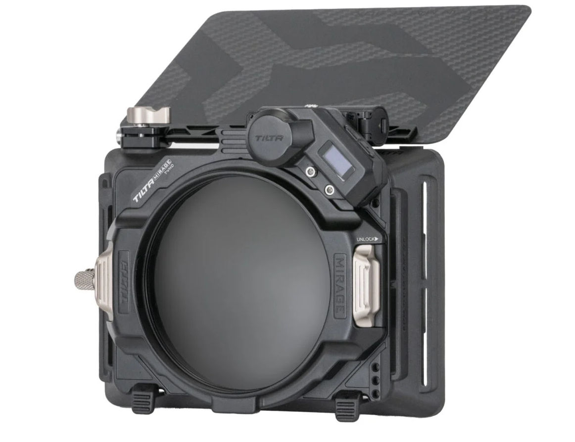 Tilta Mirage Mattebox -- lightweight and with motorized variable ND