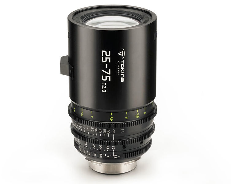 Third Tokina Cine-Zoom -- 25-75mm T2.9 -- will be available soon