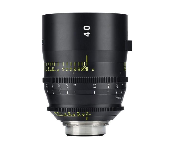 Tokina Vista Cinema series: 40mm lens introduced