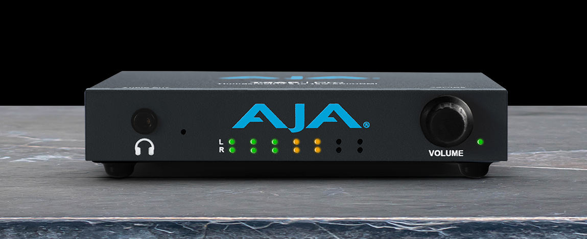 New from AJA: T-TAP Pro for monitoring via Thunderbolt and desktop software v16