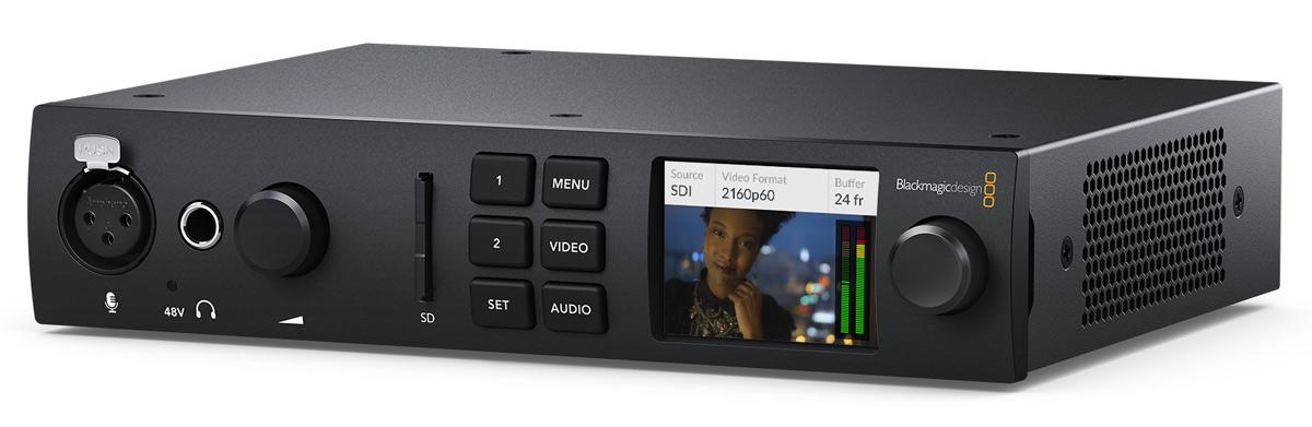 Blackmagic Ultrastudio 4K Mini: New Interface Box with Thunderbolt 3 and 12G-SDI