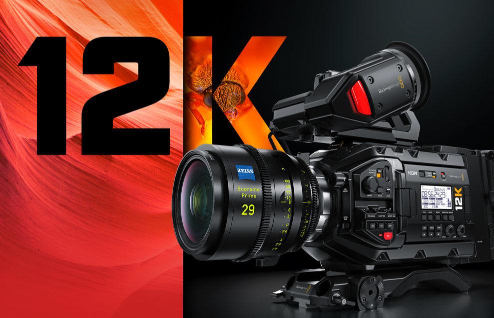 Blackmagic Design introduces Ursa Mini Pro 12K with internal 12K (!) BRAW video recording