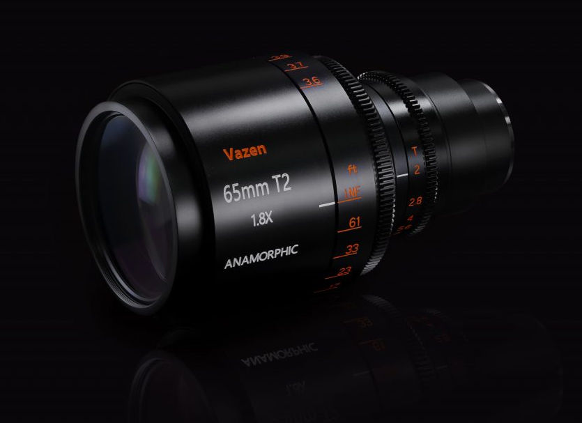 Vazen 65mm T2 1.8x anamorphic lens for MFT available