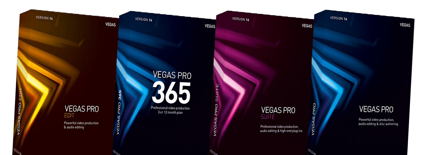 Slashcam News : Magix Vegas Pro 16 now available - now with HDR