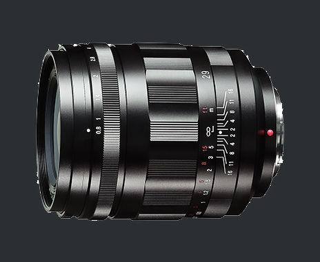 Ultra fast Voigtländer 29mm / 1:0,8 Super Nokton aspherical MFT introduced