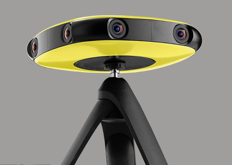 Improved Vuze+ 3D/360° camera streams live in 4K