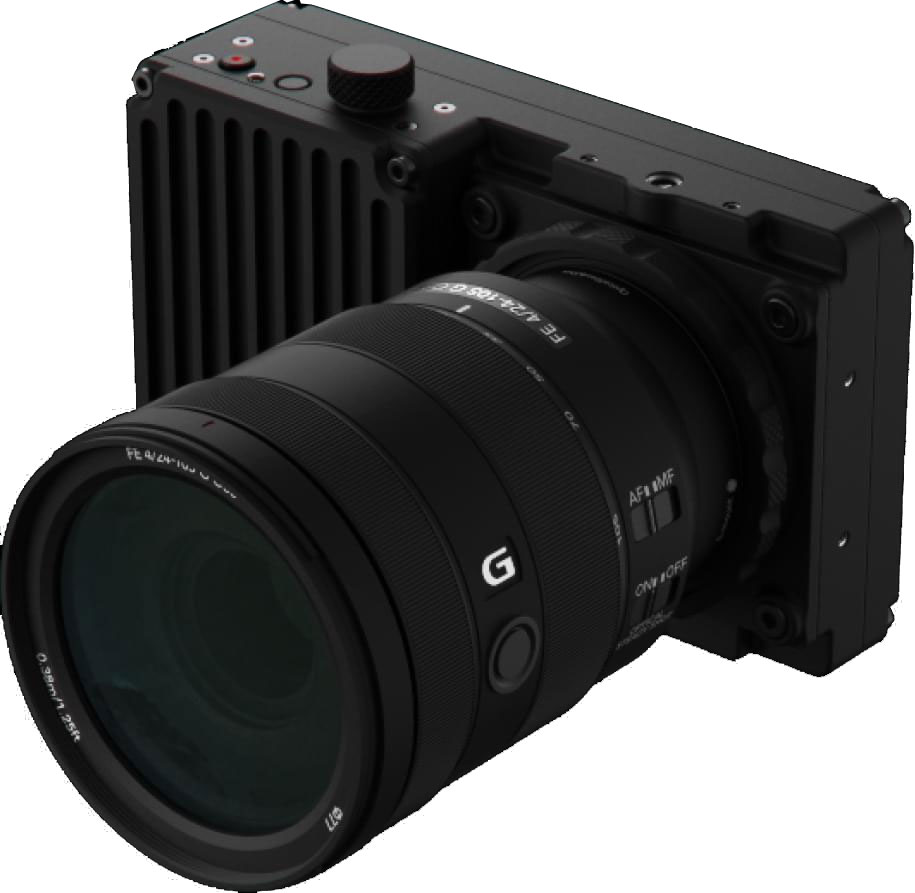 Highspeed S35 Cinecam for 10.000 Dollar - Freefly Wave
