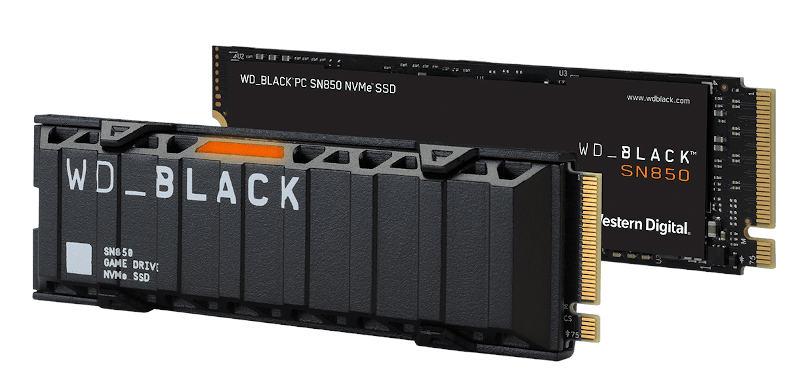 Western Digital Black SN850: PCIe 4.0 NVMe SSD with 7 GB/s