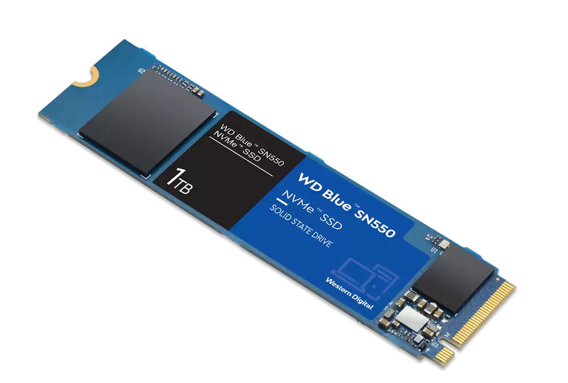 Western Digital changes NAND Flash of WD Blue SN550 SSD