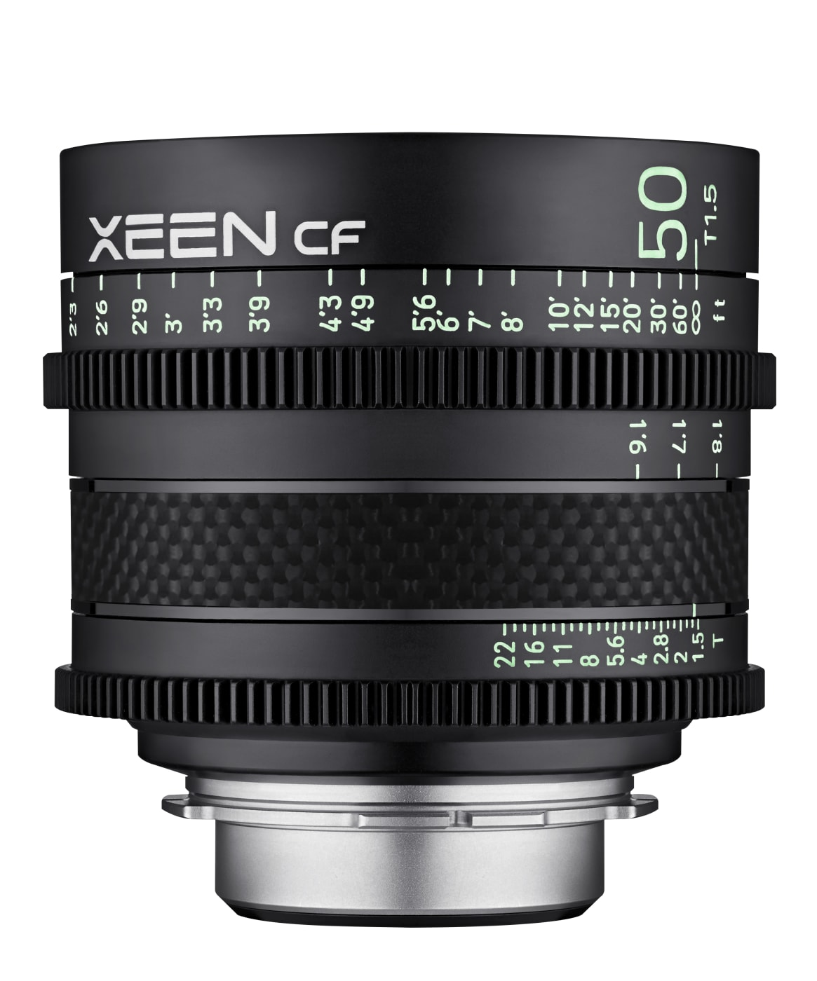 Samyang introduces compact Cine lens series XEEN CF with T1.5 and carbon fiber cylinder // IBC 2019