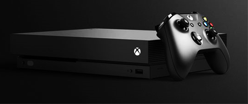 Microsoft XBox One X - unfortunately not an editing system