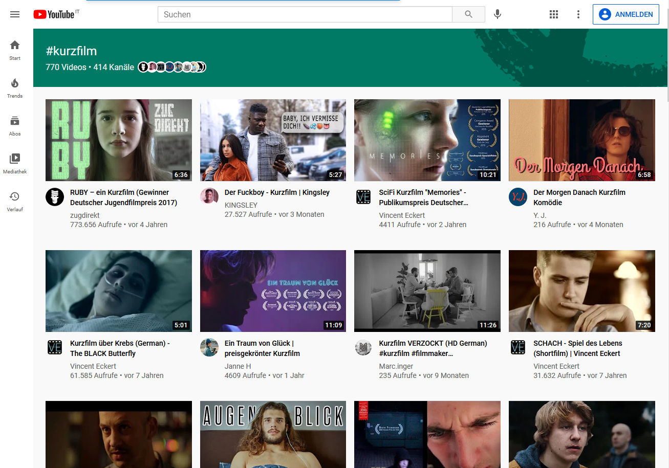 YouTube introduces new hashtag landing pages