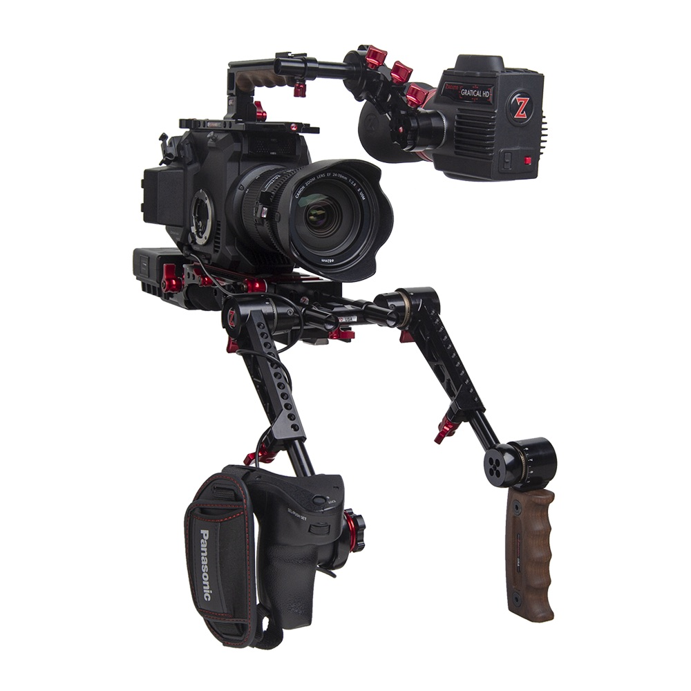 New trigger handles from Zacuto and Top Handles 2.0 from Wooden Camera