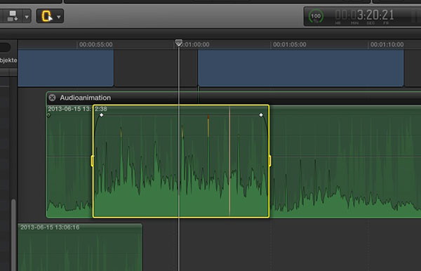 how to edit itnerview audio in final cut pro