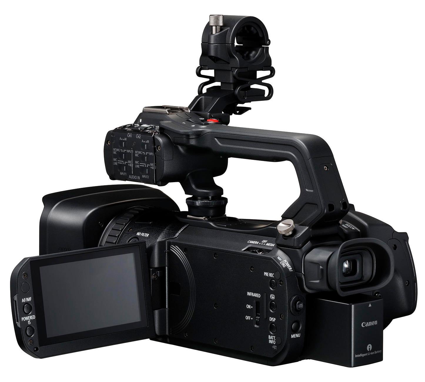 Test : Canon XF400, XF405 und GX10 4K-Camcorder: Formate / Interna