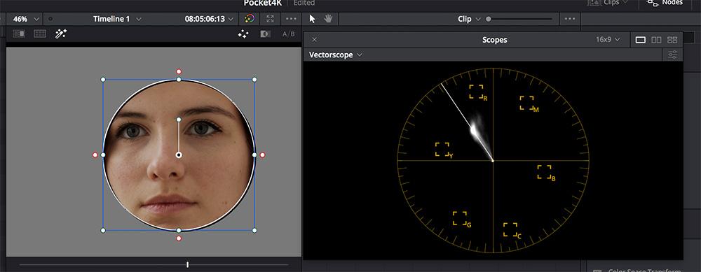 Test : Blackmagic Pocket Cinema Camera 4K in der Praxis: Hauttöne